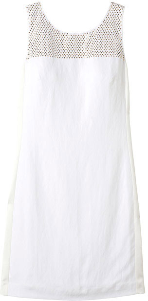 Rebecca Taylor Studded Mini Shift Dress