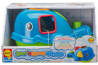 Alex Sort n Spray Tub Whale Toy