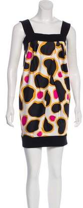 Diane von Furstenberg Printed Sleeveless Dress