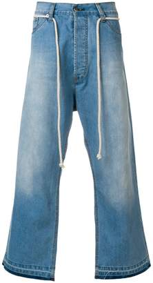 Societe Anonyme Giant cropped jeans