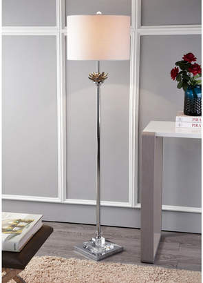 Jonathan Y Amelia Lotus Crystal or Metal Led Floor Lamp