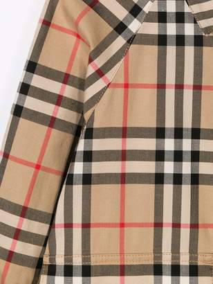 890aabd59 Long Sleeve Check Shirt With Pointed Collar Burberry - ShopStyle