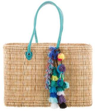 MISA Los Angeles Woven Basket Bag