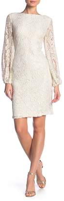 Marina Long Sleeve Lace Dress