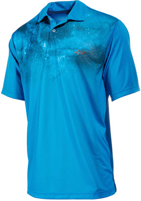 Greg Norman for Tasso Elba Men's Galaxy-Print Performance Polo, Only at Macy's $55 thestylecure.com