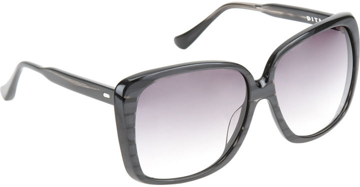 Dita Holiday Sunglasses - Black Swirl
