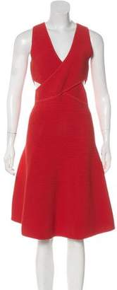 Jonathan Simkhai Knit Cutout Sleeveless Dress w/ Tags