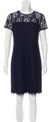 Diane von Furstenberg Barbie Short Sleeve Lace Dress w/ Tags