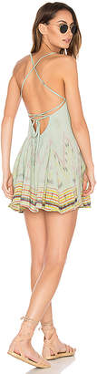Cleobella St. Kitts Mini Dress in Green $99 thestylecure.com