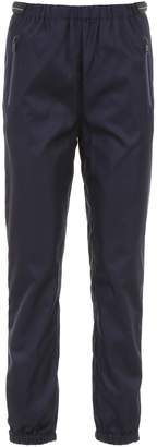 Prada Linea Rossa Trousers With Patches