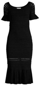 Alexis Sheira Off-The-Shoulder Midi Dress