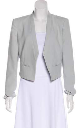 BCBGMAXAZRIA Structured Open Front Jacket