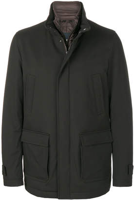 Herno layered jacket