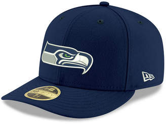 New Era Seattle Seahawks Team Basic Low Profile 59FIFTY Fitted Cap
