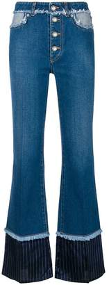 Sonia Rykiel high-waisted bootcut jeans
