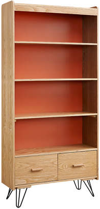Linon Perry Bookcase With Drawer
