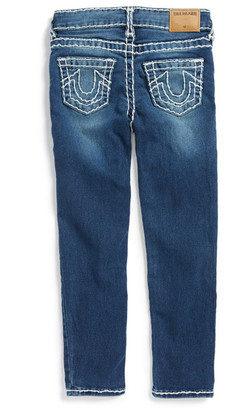 True Religion Casey Skinny Jean (Toddler Girls & Little Girls) $129 thestylecure.com