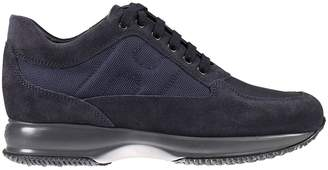 Hogan Sneakers Interactive Padded H Suede And Nylon