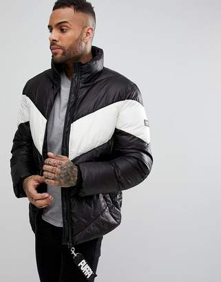 Puffa Chevron Padded Coat