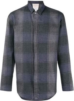 Stephan Schneider oversized check shirt