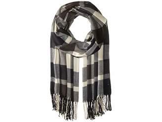 Plush Ultra Soft Fleece Plaid Scarf Scarves