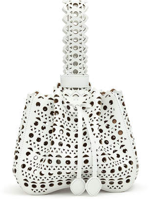 Alaia Rose-Marie small white bag