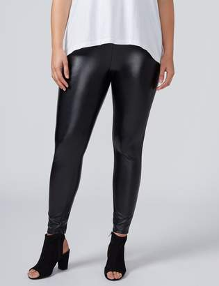 Lane Bryant All-Over Faux Leather Legging