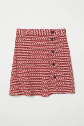 H&M Creped Skirt - Orange