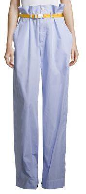 Maison Margiela Paperbag Waist Pants $830 thestylecure.com