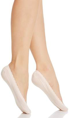 Kate Spade Second Skin Scalloped Liner Socks