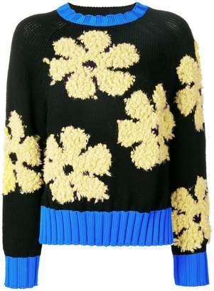 Sportmax Code flower knit sweater