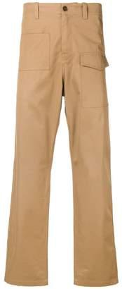 Oamc asymmetric pocket trousers