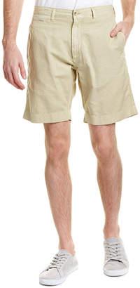 Faherty Linen-Blend Short