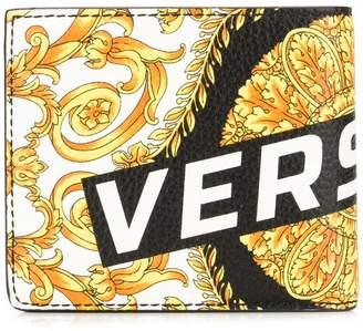 Versace barocco print bifold wallet