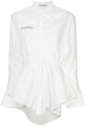 Ground Zero peplum fitted shirt