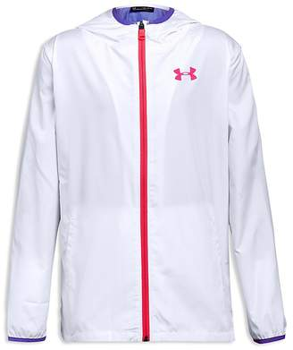 Under Armour Girls' Packable Full-Zip Jacket - Big Kid