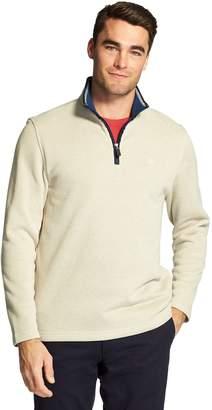 Izod Men's Classic-Fit Sweater Fleece Quarter-Zip Pullover
