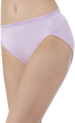 Vanity Fair Women's Body Shine Illumination Hi-Cut Brief Panty 13108