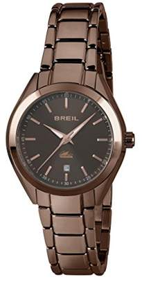 Breil Milano Women's Analogue Quartz Watch with Stainless Steel Strap TW1684
