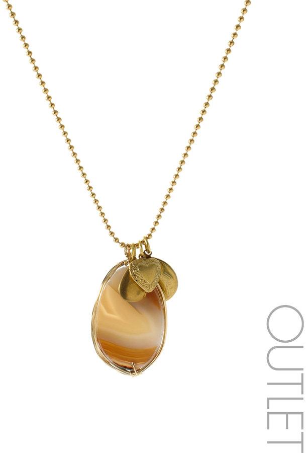 Sam Ubhi Agate Charm Necklace