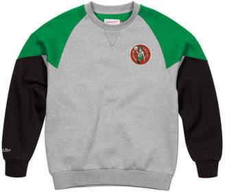 Mitchell & Ness Men Boston Celtics Trading Block Crew Sweatshirt