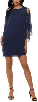 Xscape Evenings Overlay Dress