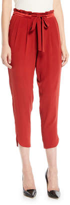 Ramy Brook Allyn Drawstring-Waist Jogger Pants