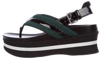 Marni Platform Thong Sandals