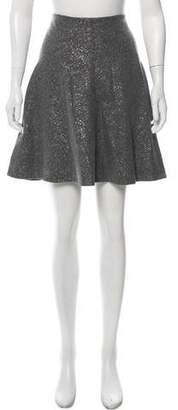 Lela Rose Flared Knee-Length Skirt