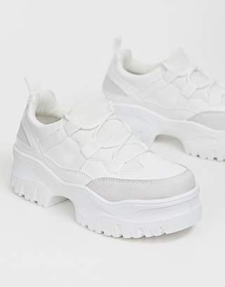 84271d2309 Asos Design DESIGN Distance chunky trainers