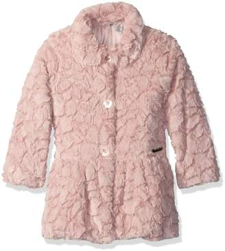 Calvin Klein Little Girls' Faux Fur Jacket