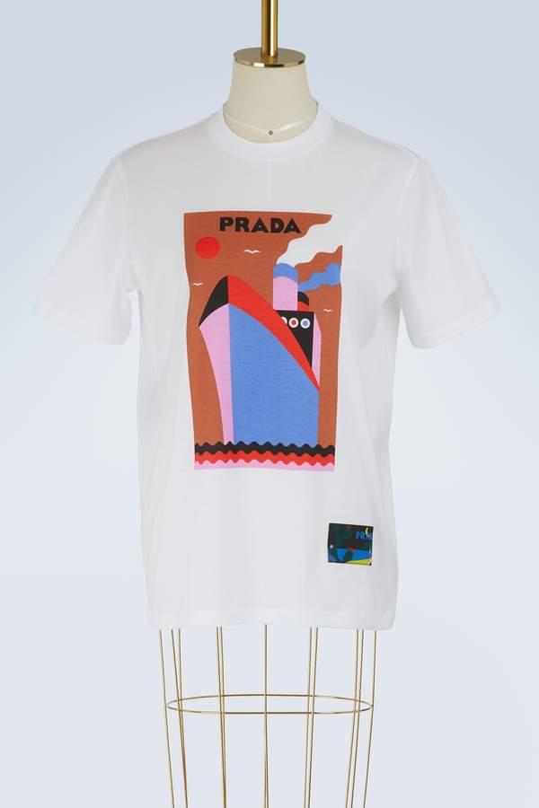 Prada Boat t-shirt
