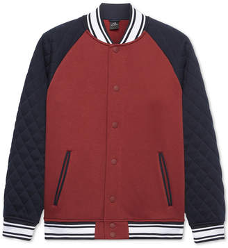 Armani Exchange Men's Embroidered Varsity Jacket