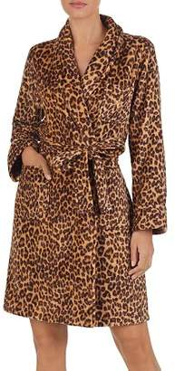 Ralph Lauren So Soft Leopard Print Fleece Robe